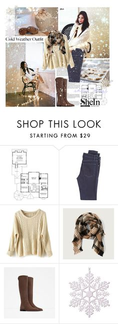 """#411 - ""Let the Holidays begin"""" by jfbs ❤ liked on Polyvore featuring McGuire Denim, Abercrombie & Fitch, Zara, John Lewis, Sheinside and shein"