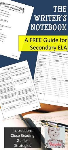 teach students how to outline their essays high school writing  in this booklet by bespoke ela information on how i use the writer s notebook as an interactive notebook in my secondary english classes