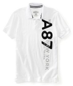 A87 New York Vertical Jersey Polo