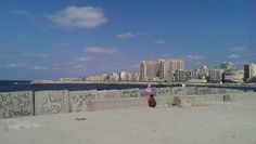 Mediterranean, solitude, Alexandria- الإسكندرية, Egypt