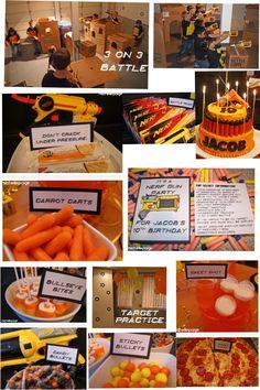 Nerf Birthday Party!~*