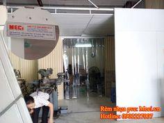 Rèm nhựa pvc ngăn côn trùng cho cửa kho,  rèm nhựa pvc được sử dụng rất nhiều trong gia đình, cửa hàng, nhà xưởng, nhà máy: http://meci.vn/nhomtin/san-pham-rem-cua-pvc.html