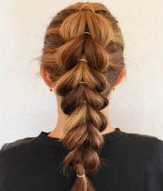 Pull Through Braid- Hair Braiding Styles
