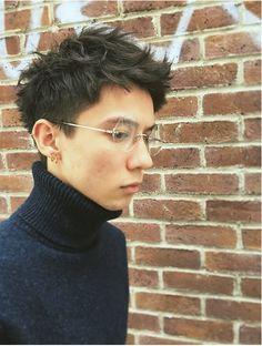 ベル ギンザ (Belle Ginza) メンズ ハイセンスな刈り上げシンプルショート〔Belle銀座〕 Asian Short Hair, Very Short Hair, Asian Hair, Short Hair Cuts, Asian Men Hairstyle, My Hairstyle, Androgynous Hair, Kpop Hair, Shot Hair Styles