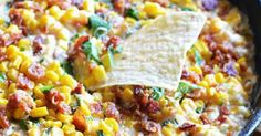 Cheesy Bacon Jalapeno Corn Dip Is Gonna Flip Your Lid!