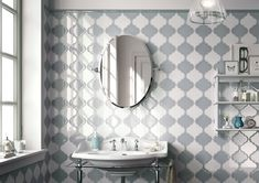 Discover Arabesque collection: some shapes are so laden with historical significance that they become a feast for all the senses. Arabesque Tile, Moroccan Lanterns, Bathroom Inspiration, Collections, Lovers, Range, Touch, Shapes, Ceramics