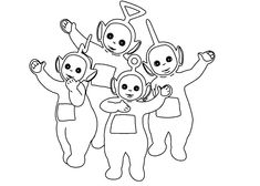 Our Teletubbies Coloring Pages May Be Used For Your Personal Non Commercial Use Only