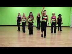 Aulas de zumba para iniciantes - exercicios para perder barriga 1 - YouTube