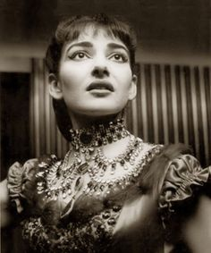 photo Maria Callas (La Traviata)