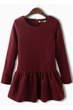 Red Dress with Pleats. Use coupon code: pinterest to receive 20% off your order