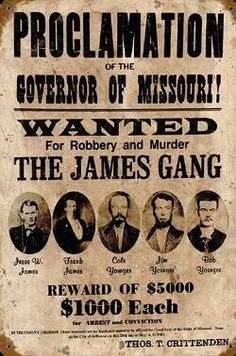 Old West Wanted Posters Vintage Ads, Vintage Posters, Vintage Photos, Mafia, Western Saloon, Western Union, Old West Outlaws, Famous Outlaws, Westerns