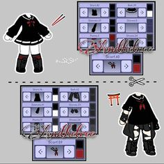 Bad Girl Outfits, Couple Outfits, Club Outfits, Drawing Anime Clothes, Manga Clothes, Anime Scenery Wallpaper, Cute Anime Chibi, Clothing Sketches, Fashion Design Drawings