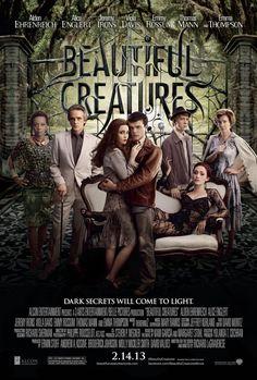 "Beautiful Creatures (2013) - tagline: ""Dark secrets will come to light."""
