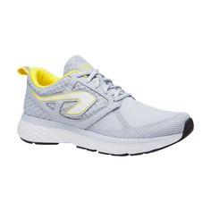 Chaussures jogging femme run support breathe gris clair kalenji 159ecdfec2b