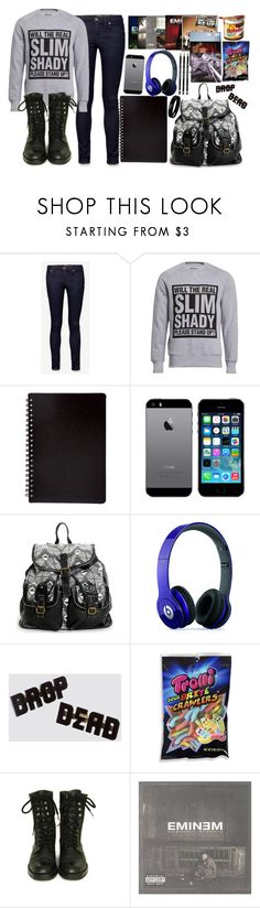 """""""Eminem"""" by ferny117 ❤ liked on Polyvore featuring Jack Wills, ElevenParis, Beats by Dr. Dre, ADAM, Chanel, nutella, dropdead, iphone5 and eminem"""