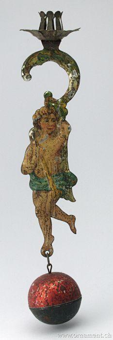 Pendulum Candleholder with Angel