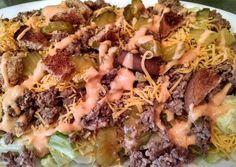 """The """"Big Mac"""" Deconstructed Salad Recipe -  How are you today? How about making The """"Big Mac"""" Deconstructed Salad?"""