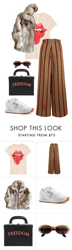 """Untitled #5884"" by ijustlikefashionman ❤ liked on Polyvore featuring MadeWorn, The Bee's Sneeze, Reebok, Bertoni and Gucci"