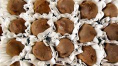 Trufas de chocolate meio amargo: sempre o mais funcional para o seu corpo.