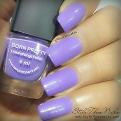 Style Those Nails: Born Pretty Store - Colour Changing Polish (Thermal Polish) Shade No. #8(104)