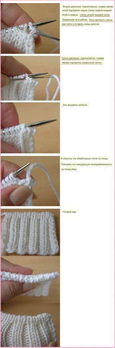 loop with needle...♥ Deniz ♥.