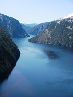 Misty Fjords.....absolutely gorgeous!!  Been there, done that....going back!