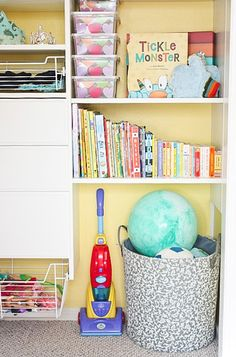 An organized kids closet - Ask Anna
