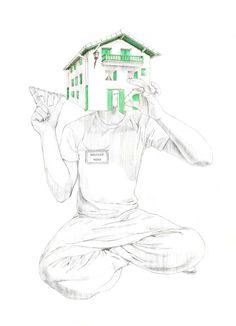 El hombre casa. JAVIER RUBIN GRASSA