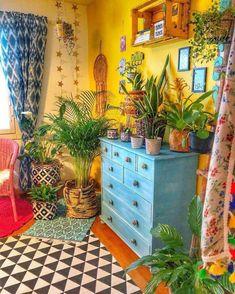 60 Enthralling Bohemian Style Home Decor Ideas Bohemian House Decor Bohème Bohemian Decor Enthr Enthralling Home Ideas Style Bohemian Style Home, Bohemian House, Bohemian Decor, Bohemian Kitchen, Hippie Bohemian, Gypsy Decor, Bohemian Living, Hippie House Decor, Hippie Dorm
