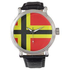 Flag of German Resistance Wrist Watch