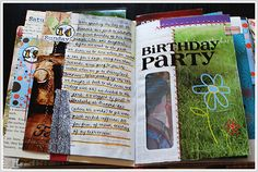 what to do with a junk journal!