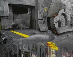 Leonardo Silaghi, Untitled #128803, 2012, oil on canvas, 90 x 115 cm