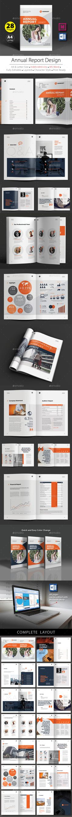 Annual Report Design Template V.4 - #Corporate #Brochures Download here: https://graphicriver.net/item/annual-report-design-template-v4/19628724?ref=alena994