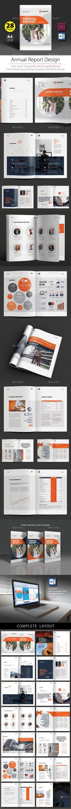 Annual Report Design Template V.4
