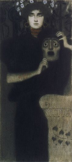 "sakrogoat:  ""Gustav Klimt - Tragödie  """