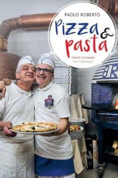 Pizza & Pasta; recepten van Paolo Roberto. Vormgeving binnenwerk door Studio Spade