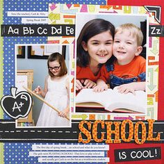 Back to School Scrapbook Pages