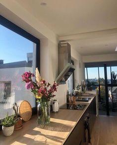 Küchen Design, Home Design, Home Interior Design, Interior Colors, Interior Livingroom, Interior Plants, Interior Ideas, Kitchen Decor Sets, French Kitchen Decor