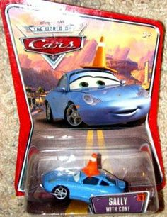 Disney / Pixar CARS Movie 1:55 Die Cast Car Series 3 World of Cars Sally with Cone by Mattel. $34.99. Includes diecast vehicle. Sally with cone is new in blister on card....