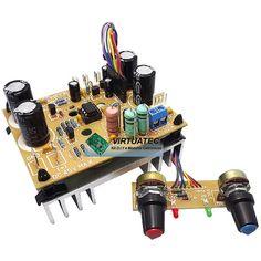 Fonte ajustável 30V por 5 Amperes com controle de corrente.