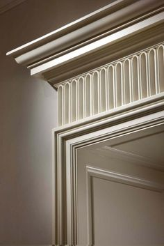 European Door Frame Detail