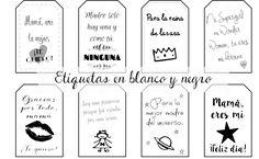 El rincón de las cosas bonitas: Etiquetas imprimibles para el Día de la Madre