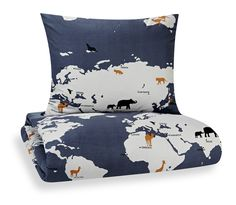 Animal Migration Duvet Cover by Lotta Mäkinen, finalyson #Duvet_Cover #Animal_Migration #Lotta_Makinen #finalyson