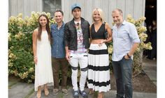 The East End event—held at chic farm-to-table restaurant Topping Rose House—was hosted by DuJour CEO and founder Jason Binn, former NYC police commissioner Ray Kelly and Just Drew designer Andrew Warren and was presented by EAST, Miami. Pictured: Georgina Bloomberg, Jason Binn, Andrew Warren, Claire Laverty, Laurent Fraticelli.