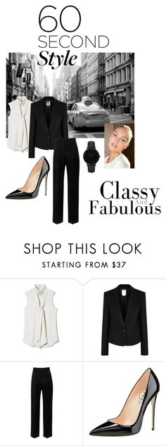 """60sec style"" by tiwik ❤ liked on Polyvore featuring Vince Camuto, DKNY, Lanvin and CLUSE"
