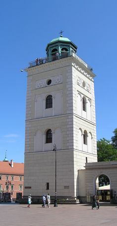 Warsaw's Old Town: Warsaw's Highlight, Poland #travel #church #tower #architecture