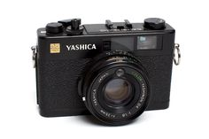 Yashica Electro 35 CC - This is the perfect film camera to carry everywhere with you. It has a very sharp 35mm f/1.8 lens, aperture priority mode (auto exposure), manual rangefinder focusing and is quite compact. It was produced from about 1970 to 1975 and although not common, can easily be found on ebay. This is one of the first rangefinder cameras I picked up and the one that really got me excited about the accuracy manual focusing provides. When loaded with 1600iso film (or 400iso film you plan to push to 1600iso) and set to f/1.8 it can take pictures in most lighting situations. For all those looking to start (or restart) shooting film, I would highly recommend this camera.
