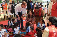 Duques de Cambridge en la India