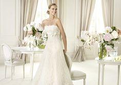 Pronovias presents the Gomera wedding dress, Costura 2013.   Pronovias