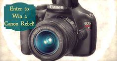January Camera Giveaway!!! - Cheerfully Imperfect - Jan 31y